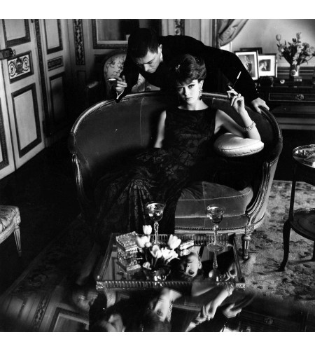 Couple, Opulent Living Room, 1960s © Frances McLaughlin-Gill copia