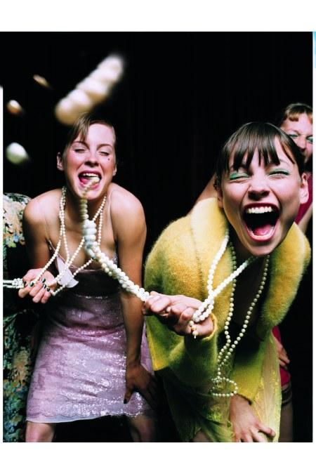 Elaine CostantineGlamorous Verve Bluemarine Vogue Italia October 1999 © Elaine Constantine