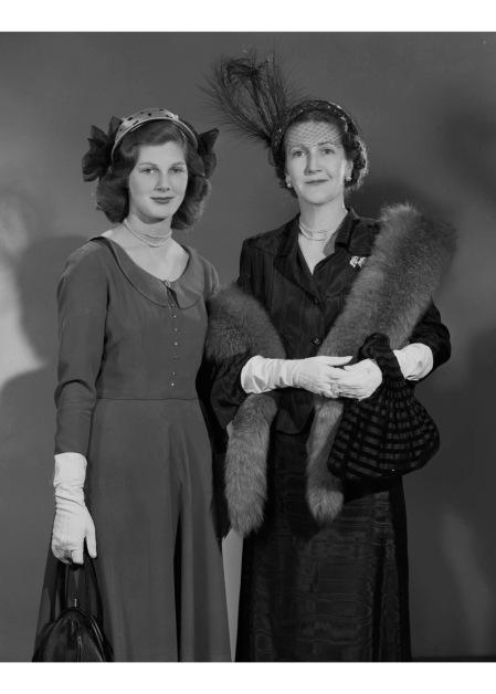 Fiona (née Campbell-Walter), Baroness Thyssen; Frances Henriette Campbell-Walter (née Campbell) 1949 by Bassano ltd