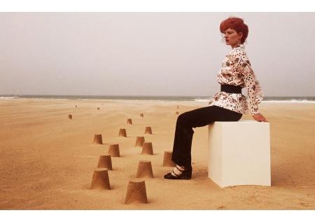 Gala Mitchell Collection Chloé A:W Vogue 1971 © Guy Bourdin
