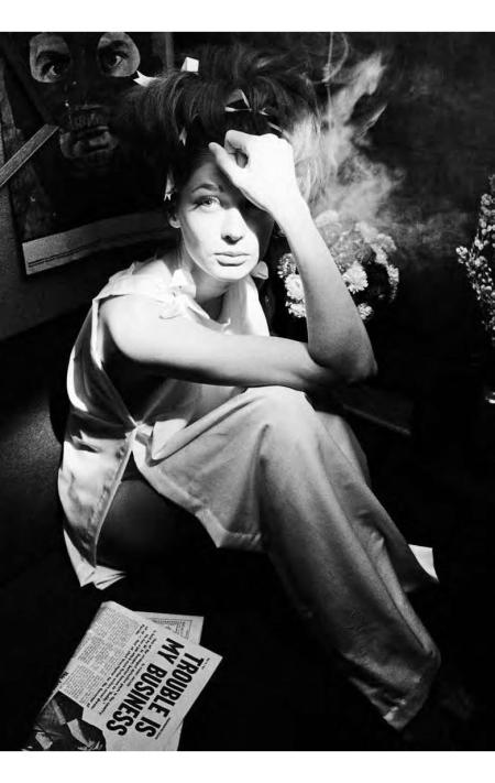 Ina Balke, Anouk Aimée New York Times Magazine, May 1963
