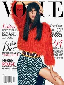 Issa Lish Per Vogue Messico Dicembre 2014 © Alexei Hay cover