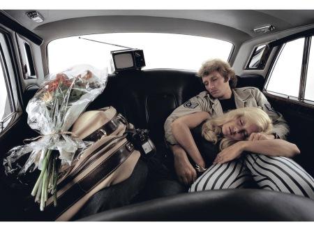 Johnny Hallyday & Sylvie Vartan © Jean-Marie Périer