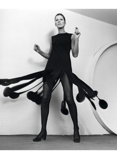 Kinetic Dress In Wool, 1970