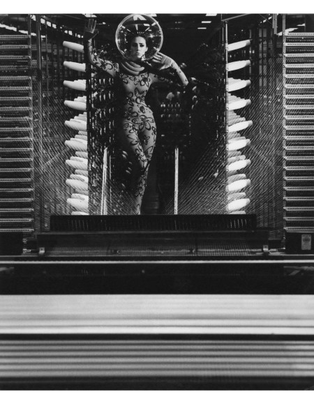 Maggi Eckardt Photographed At Fibremakers Factory 1967
