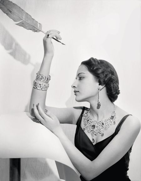 Maharani Sita Devi of Baroda also known as Princess Karam 1940 © Cecil Beaton