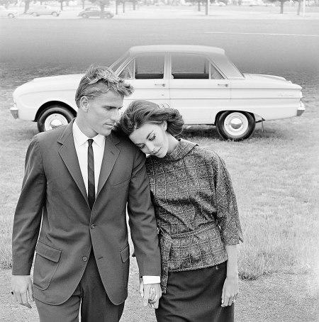 Margot McKendry Murray Rose Ford Falcon 1963 b