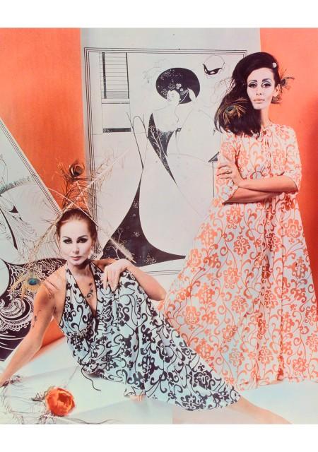 models Del Hancock and Maggi Eckardt, David Mist : Studio Ten, Sydney, New South Wales, Australia, 1967