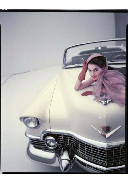 Nancy Berg 1954 © Erwin Blumenfeld