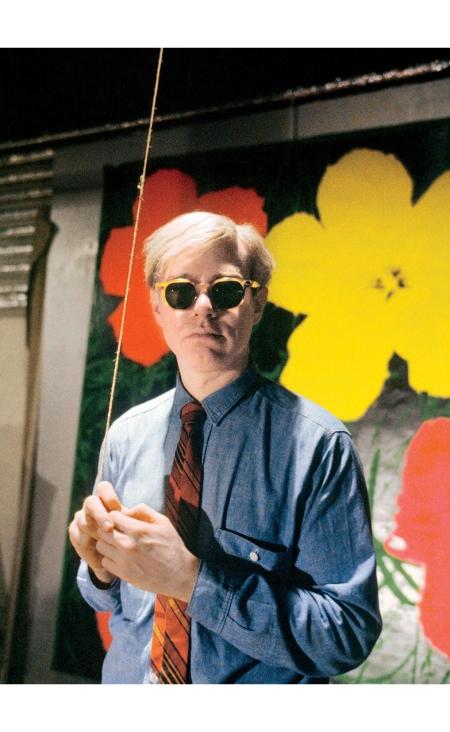 Warhol at the Factory, 1965 © Bob Adelman