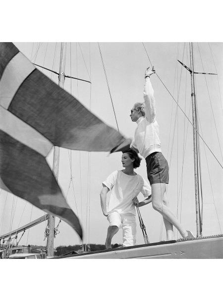 Wenda Parkinson Scandinavia Vogue July 1955
