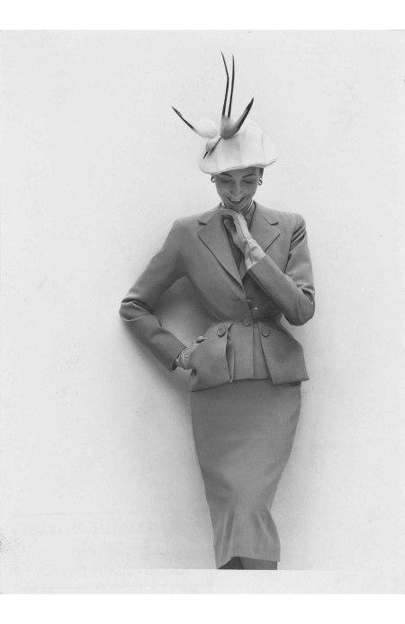 British Vogue, March 1951 © Norman Parkinson