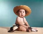 1960s BABY WEARINGOWBOY...