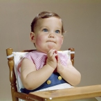 1960s BABY HANDS TOGETHER...