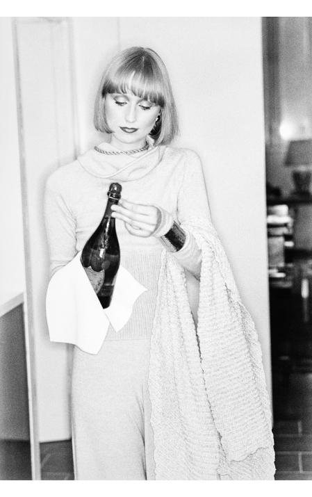 Chris Royer Vogue, September 1975 © Arthur Elgort