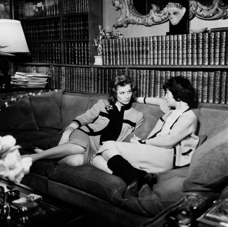 Coco Chanel and Suzy Parker, 1959Photography by Willy Rizzo
