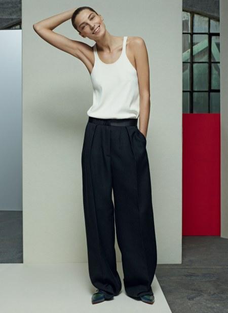 Daria Werbowy Karim Sadli, Vogue, April 2014