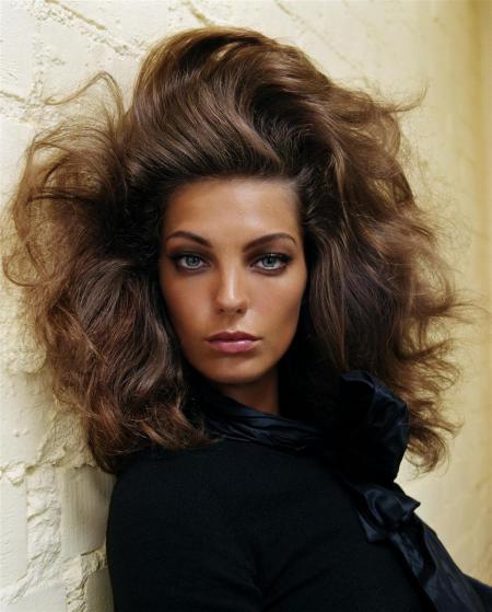 Daria Werbowy Vogue Italia Aug 2003 © Steven meisel