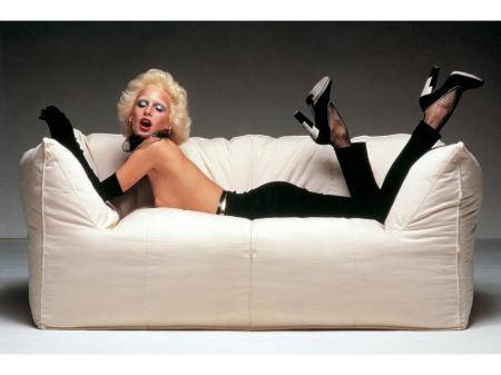 Donna Jordan ads Mario Bellini designer ©