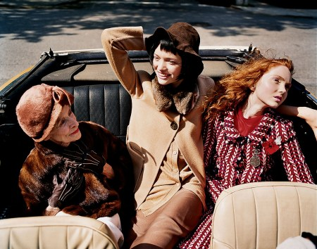 "Gemma Ward Lily Cole ""Senior Moment"" Vogue, August 2004 © Tim Walker"