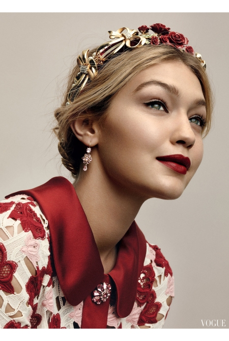 Gigi Hadid Greg Harris, Vogue, July 2015