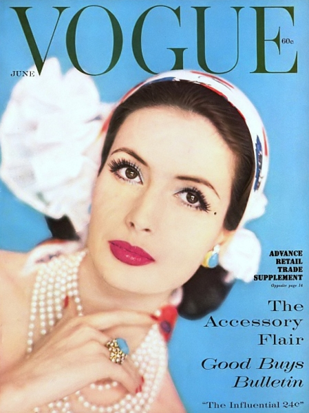 Vogue Magazine Cover - 1959