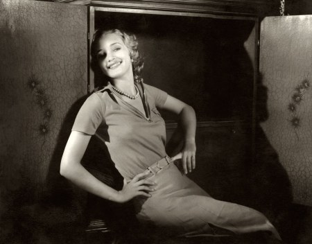 In this 1932 Edward Steichen portrait of starlet Marian Marsh