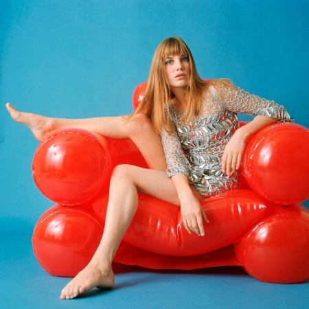 Jane Birkin en 1969 Veronique Bucossi:REX:Shutterstock