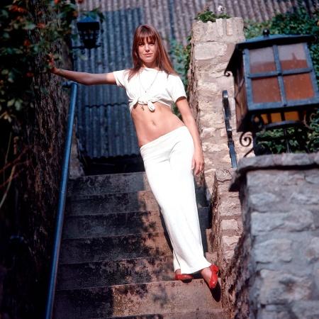 Jane Birkin en 1970 REX:Shutterstock