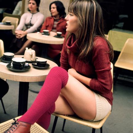 Jane Birkin en 1971 GUNNAR LARSEN:REX:Shutterstock