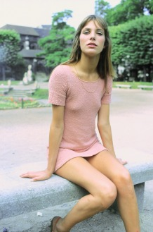 Jane Birkin en 1974, à Paris, France . (Photo by Giancarlo BOTTI:Gamma-Rapho via Getty Images)bb