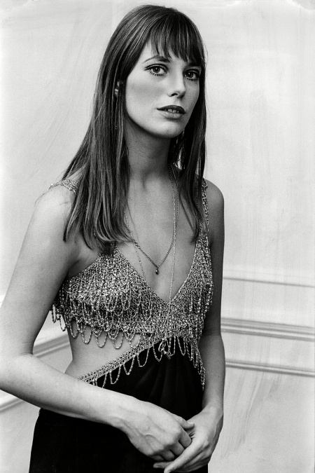 Jane Birkin en la premier de 'Wonderwall' en 1969 Associated Newspapers :REX:Shutterstock