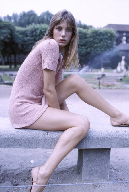 Jane Birkin in France, in 1974 . (Photo by Giancarlo BOTTI:Gamma-Rapho via Getty Images)