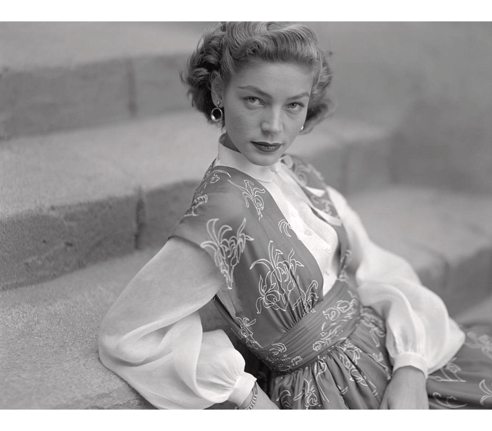 Lauren Bacall Glamour © Clifford Coffin