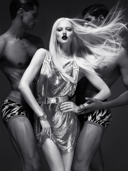 Lindsey Wixson 2011 Versace pro H&M © Mert & Marcus