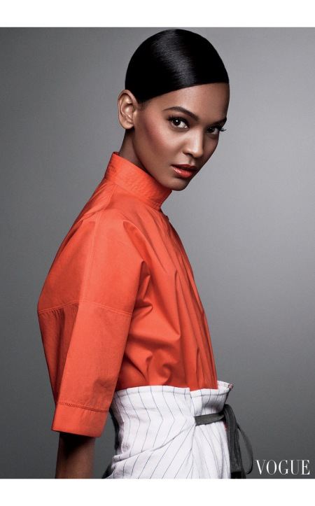 Liya Kebede Vogue, April 2012 © Craig McDean
