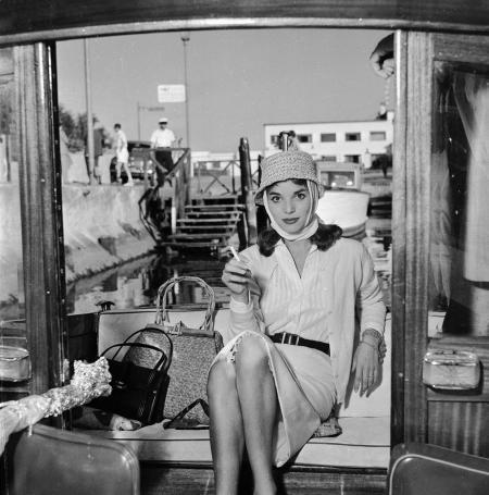 Mostra del cinema di Venezia nel 1957 © Toscani Fedele