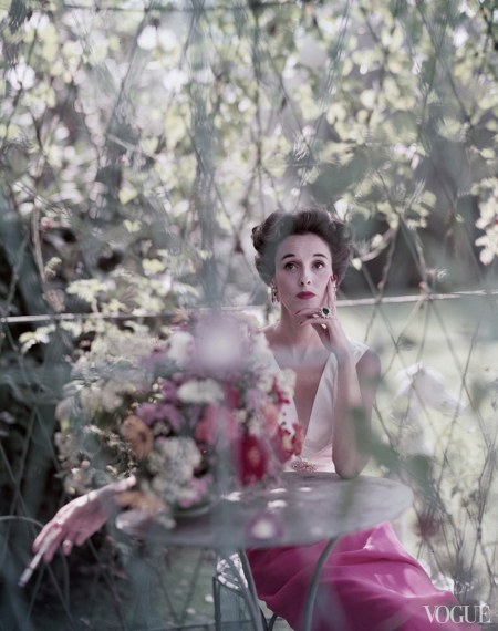 Mrs. William S. Paley, aka Babe Paley Vogue, December 1, 1952 (outtake) © Norman Parkinson