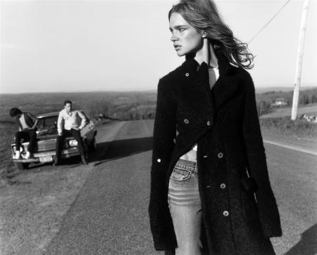 "Natalia Vodianova ""The Lost Highway"" Vogue Nippon, November 2002 © Carter Smith0"