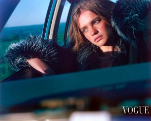 "Natalia Vodianova ""The Lost Highway"" Vogue Nippon, November 2002 © Carter Smith6"