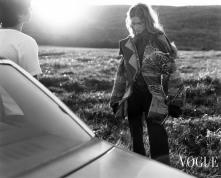 "Natalia Vodianova ""The Lost Highway"" Vogue Nippon, November 2002 © Carter Smith8"