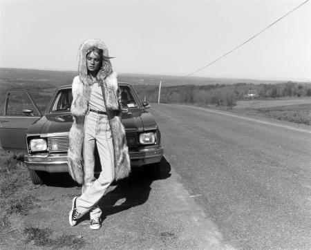 "Natalia Vodianova ""The Lost Highway"" Vogue Nippon, November 2002 © Carter Smith9"