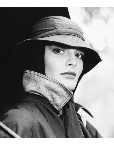 Rene Russo wearing a hat by Don Klin july 1974