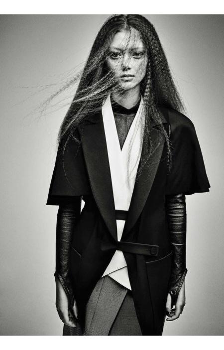 Sara Grace Vogue Italia March 2017 © Patrick Demarchelier b