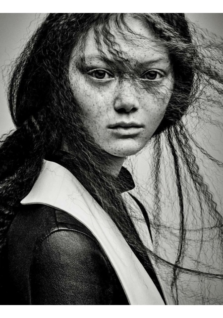 Sara Grace Vogue Italia March 2017 © Patrick Demarchelier