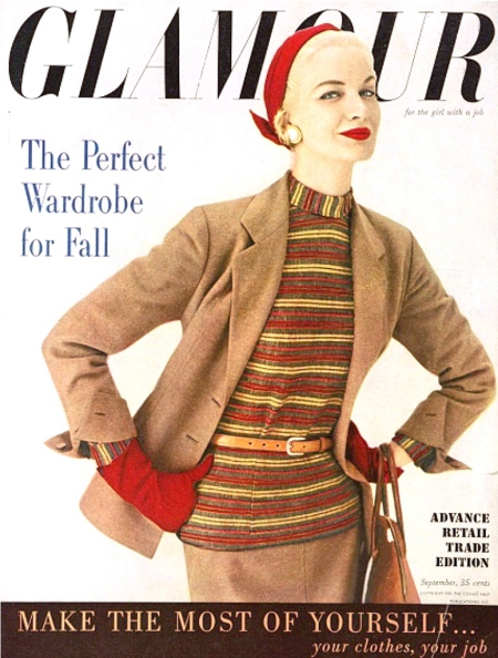 Glamour Cover 1954