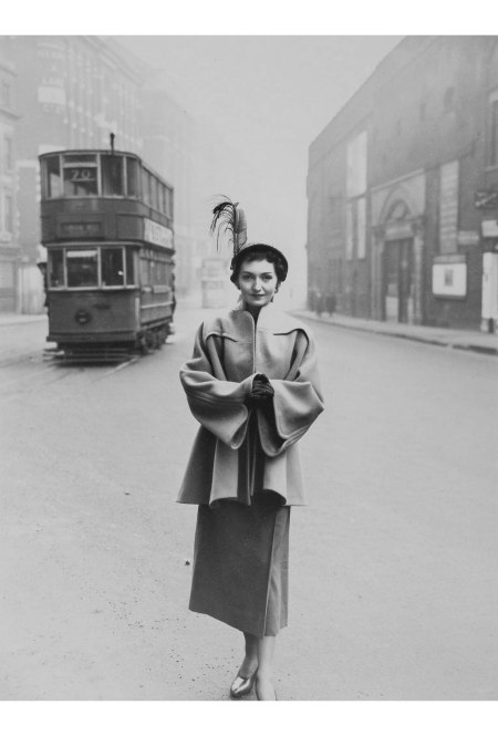 Woman with Tram, 1949 © Norman parkinson