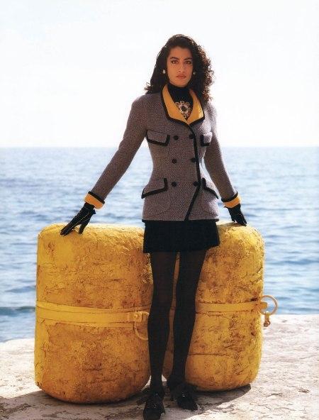 Yasmeen Ghauri © Karl Lagerfeld 1991 Chanel-3_6