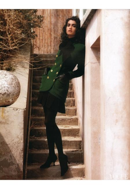 Yasmeen Ghauri © Karl Lagerfeld F:W 1990:91 Chanel g