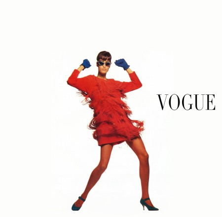Yasmeen Ghauri Versace – Vogue it oct – 1991 © Walter Chin